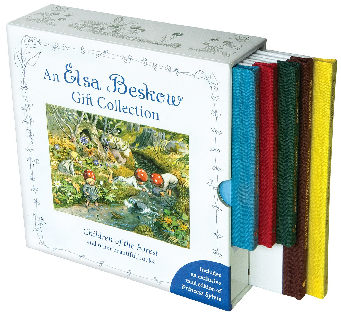 An Elsa Beskow Gift Collection: Children of the Forest and other beautiful books by FLO