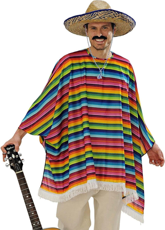 Set Poncho con Sombrero WIDMANN 9543X in Taglie Uniche