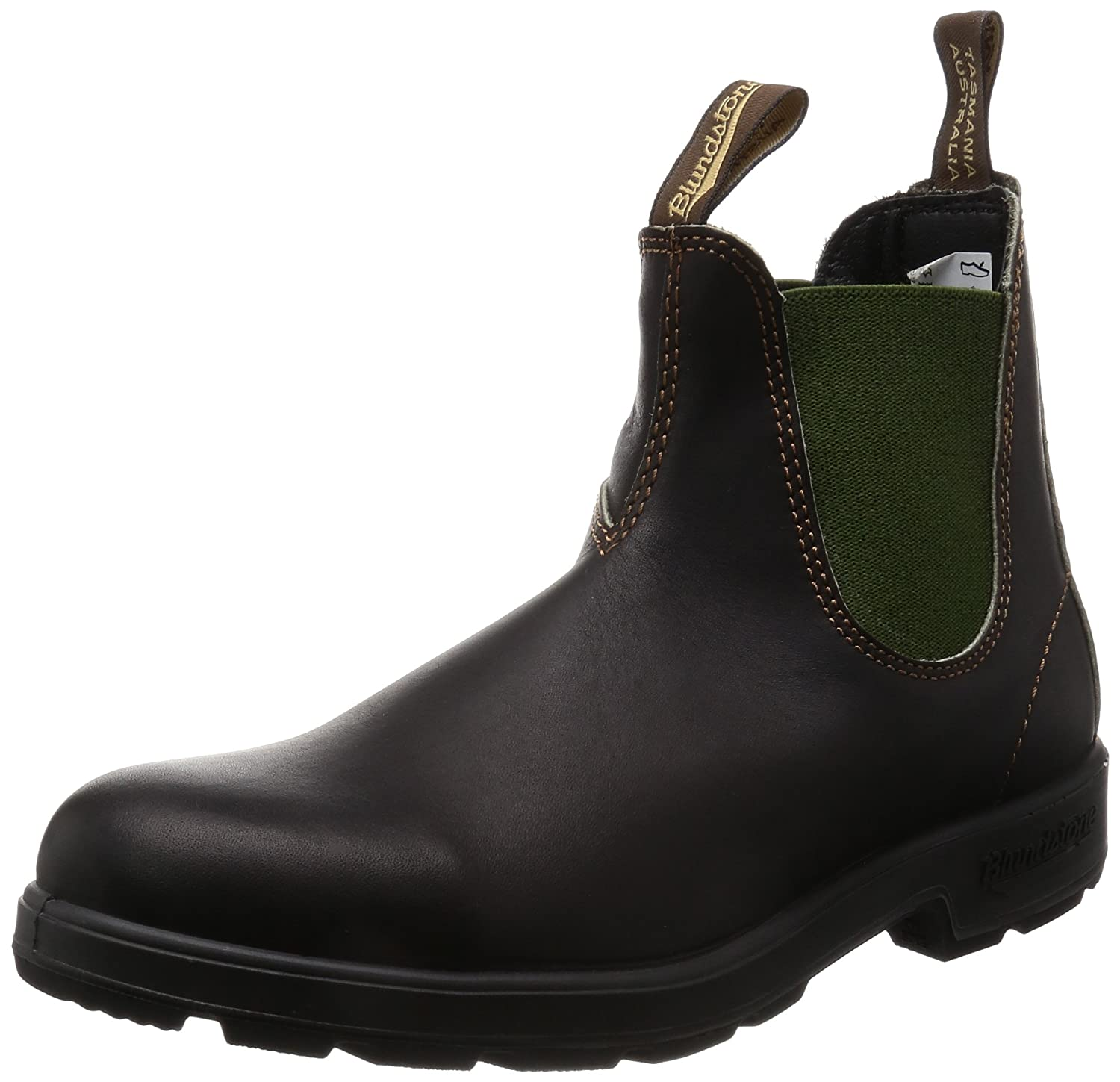 Blundstone Unisex Original 500 Series B00GIBVSWE 4.5 M US Mens/ 6.5 M US Womens/ 3.5 AU|Stout Brown/Olive