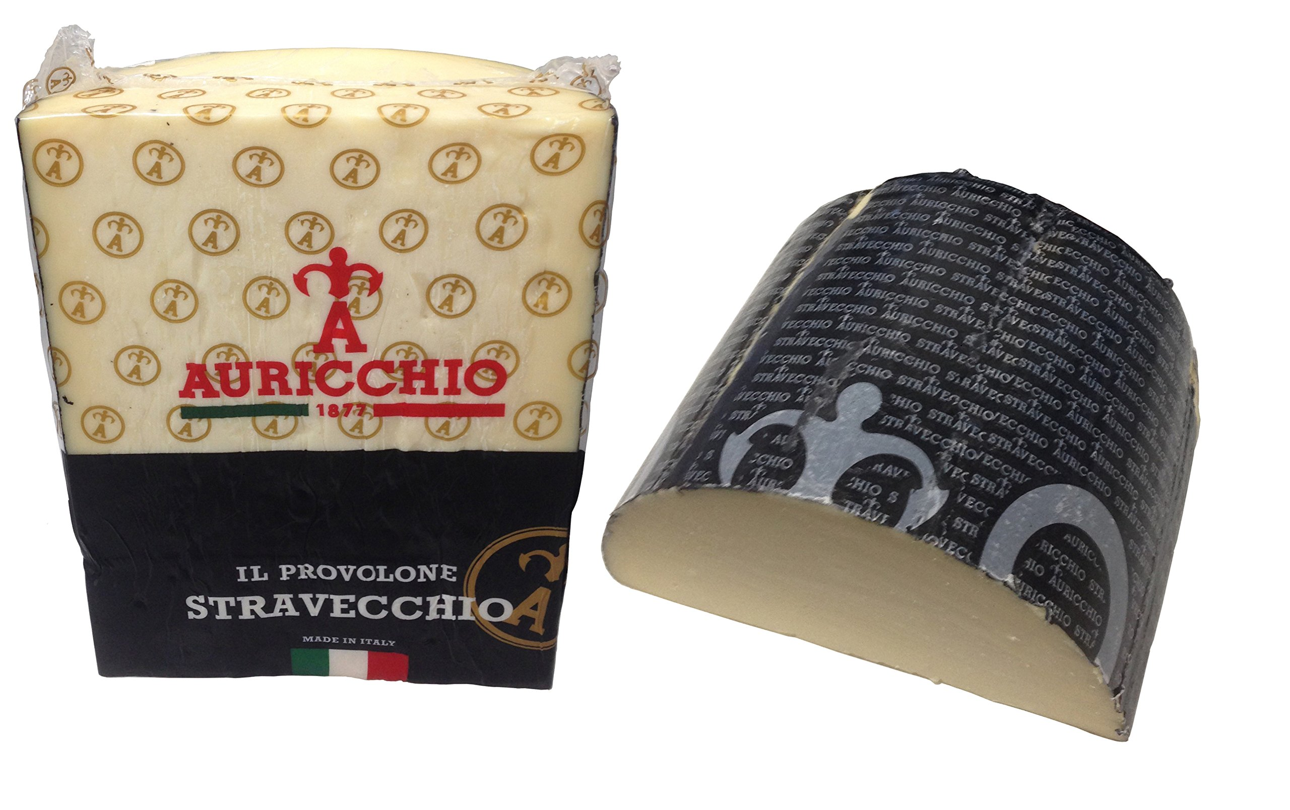 Auricchio Provolone Extra Sharp Aged 12 months - Sold by the pound by Auricchio