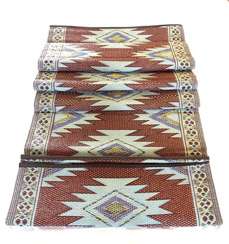 Balajeesusa 9x12 indoor outdoor plastic straw rugs patio rv camping rug mat picnic garden reversible wholesale price mat 20300