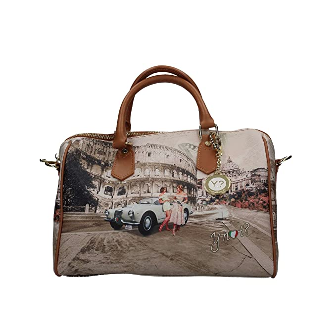Borsa Y Not bauletto Roma Life 318  Amazon.it  Scarpe e borse 2c92187365f