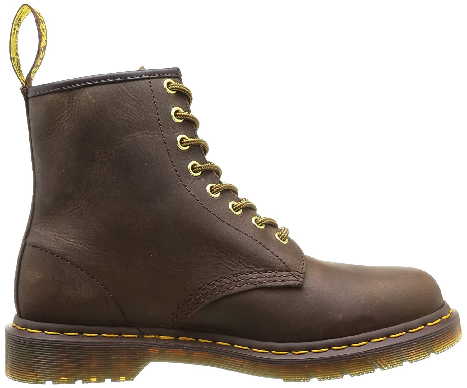 Dr. Martens Men's 1460 Combat Boot, 8.5 B(M) US Women/7.5 D(M) US Men B000NG6T9W 11 F(M) UK / 13 B(M) US Women / 12 D(M) US Men|Aztec Crazyhorse Leather