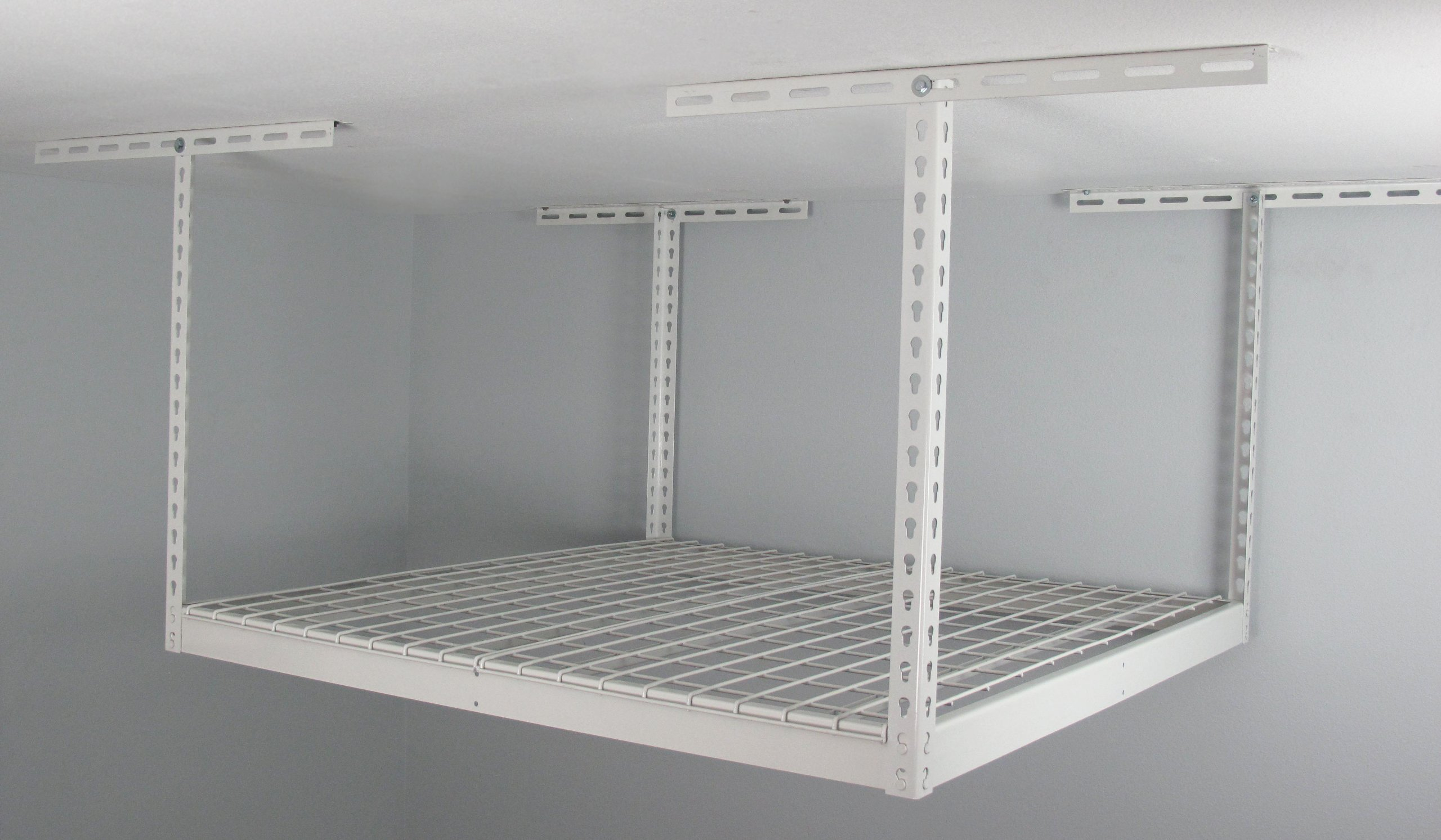 SafeRacks SR-4x4-W-24 Overhead Garage Storage Rack, 4' x 4'