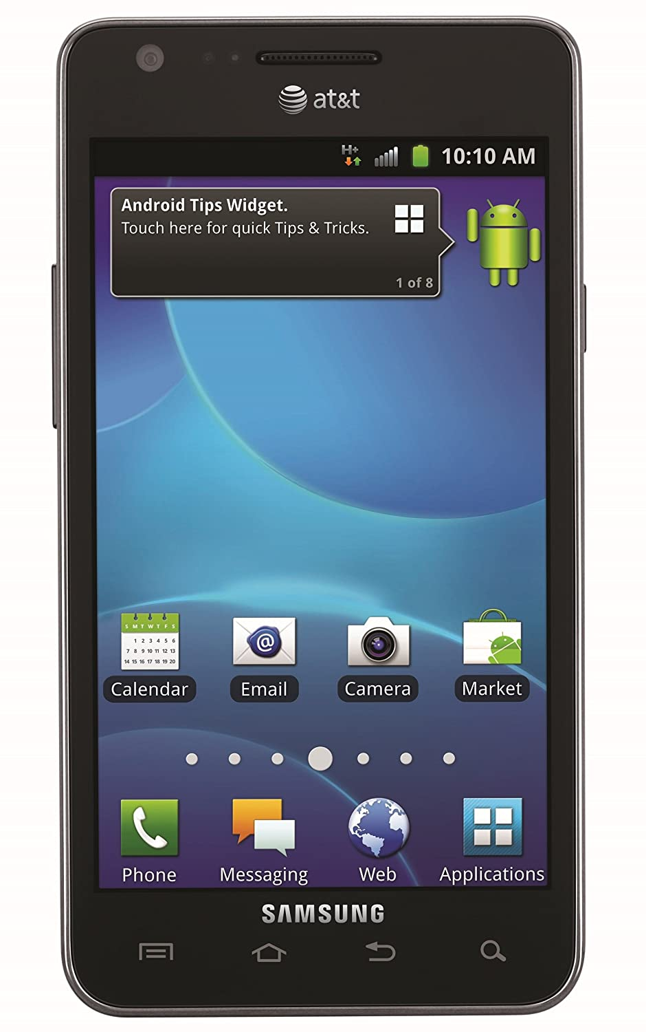Amazon.com: Samsung Galaxy S2 I777 16GB Unlocked GSM Android Cell Phone -  Black: Cell Phones & Accessories