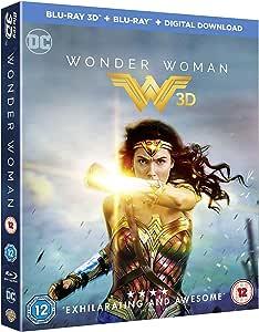 Wonder Woman [Blu-ray 3D + Blu-ray + Digital Download] [2017] [Region Free]