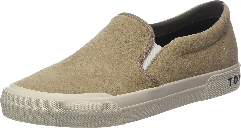 Tommy Hilfiger Heritage Suede Slip On Sneaker, Zapatillas para Hombre