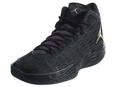 Nike Jordan Melo M13 Mens 881562-004 Size11 - BlackMetallic Gold