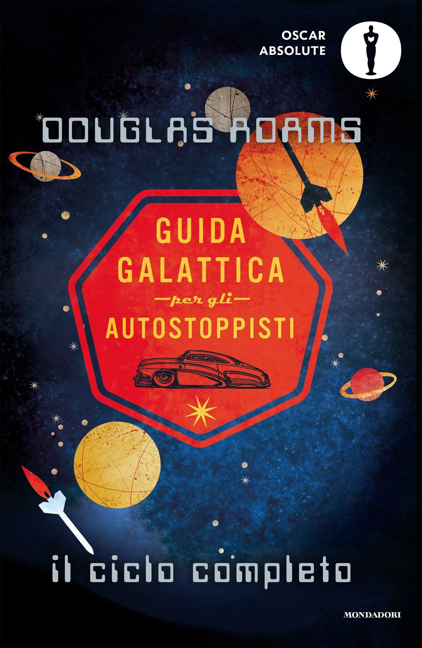 Guida galattica per gli autostoppisti. Il ciclo completo Rozzo – Deckle Edge, 24 mag 2016 Douglas Adams L. Serra Mondadori 8804666854