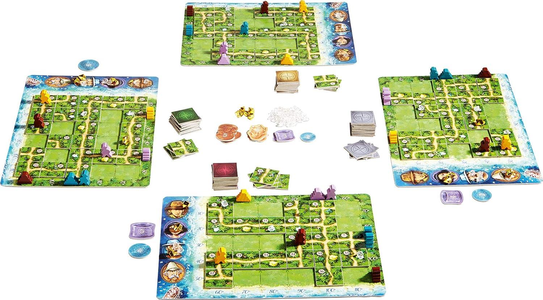 HABA- Karuba, Juego de Mesa, Multicolor (301895): Amazon.es: Juguetes y juegos
