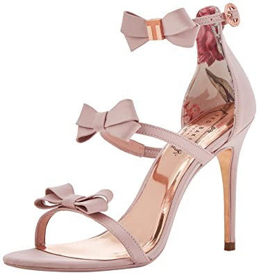 e225458e1 Ted Baker London Women s Nuscala Ankle Strap Sandals  Amazon.co.uk ...