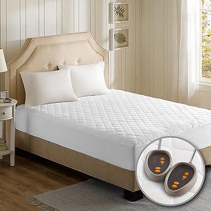 Amazon Com Beautyrest Cotton Blend Heated Mattress Pad Cal King