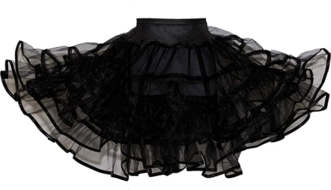 Hip Hop 50s Shop Toddler Girls Crinoline Petticoat Slip for Poodle Skirt Costume