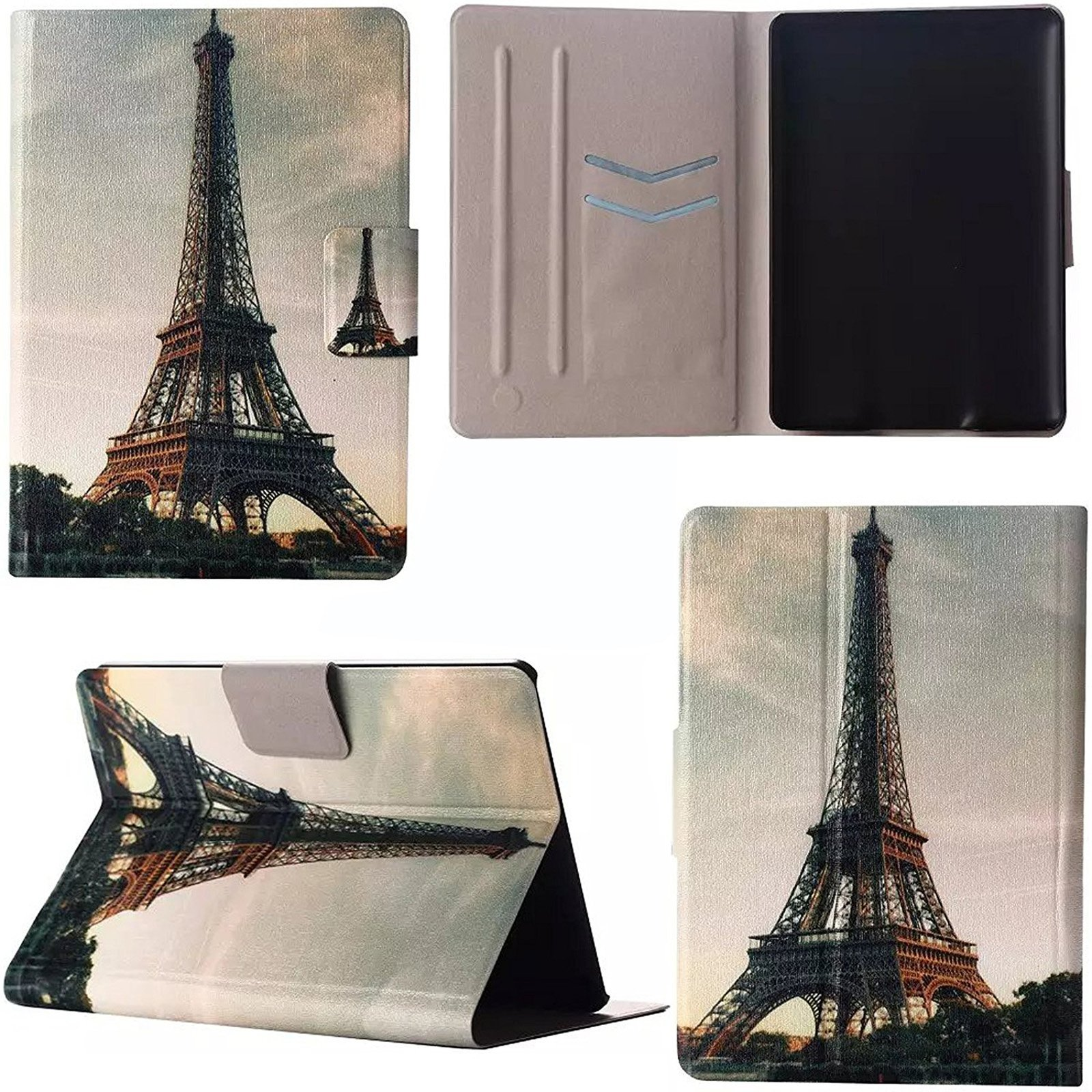Artyond Kindle Paperwhite Case, The Thinnest PU Leather Case with Auto Wake/Sleep Feature Smart Cover for Amazon Kindle Paperwhite (Fits All 2012, 2013, 2015 and 2016 Versions) (Eiffel Tower)
