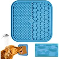 KILIN Lick Mat for Dogs, Lick Pad for Boredom Distraction&Anxiety Relief,Dog Food Mat for Peanut Butter or Yogurt…