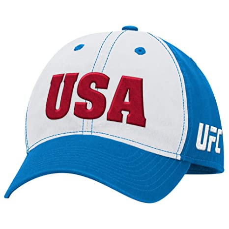 0db9d4b575a Image Unavailable. Image not available for. Color  UFC Men s USA Country  Slouch Adjustable Hat ...