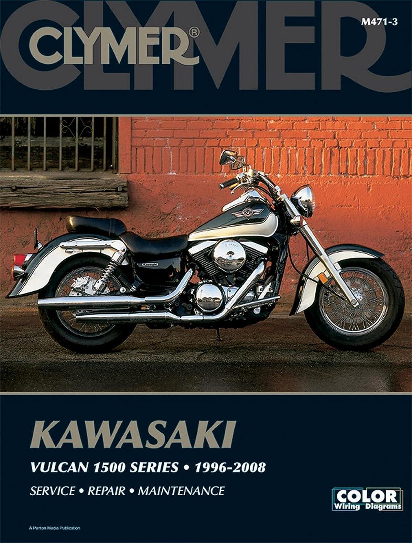 Clymer Repair Manual for Kawasaki VN1500 Vulcan 96-08 on kawasaki 1500 fuel system, kawasaki nomad wiring diagram, kawasaki 1500 parts, kawasaki 1500 accessories, kawasaki mean streak, kawasaki vulcan wiring diagram,