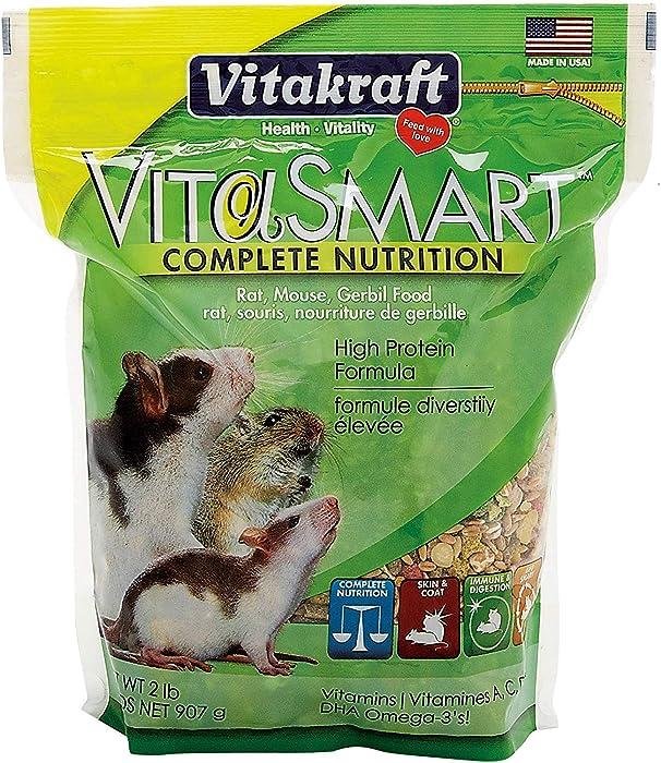 Sunseed 2 lbs Vita Food for Rat/Mouse/Gerbil [Set of 2]