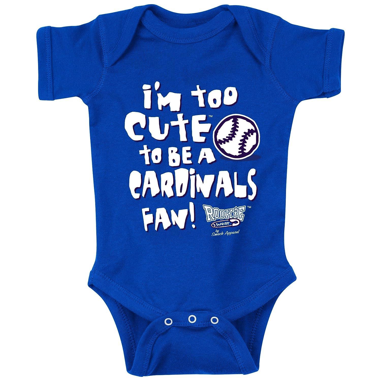 /& Toddler Tee 2T-4T Smack Apparel Kansas City Royals Fans NB-18M Too Cute Onesie