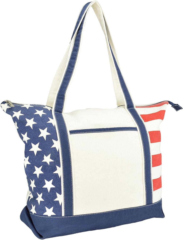 Virginia USA Map Stars Stripes Flag Shape Handbag Craft Poker Spade Canvas Bag Shopping Tote