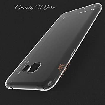DORRON Shockproof Highly Transparent Soft TPU Back Case Cover for Samsung Galaxy C9 Pro / C9  Transparent_Clear  Mobile Phone Cases   Covers