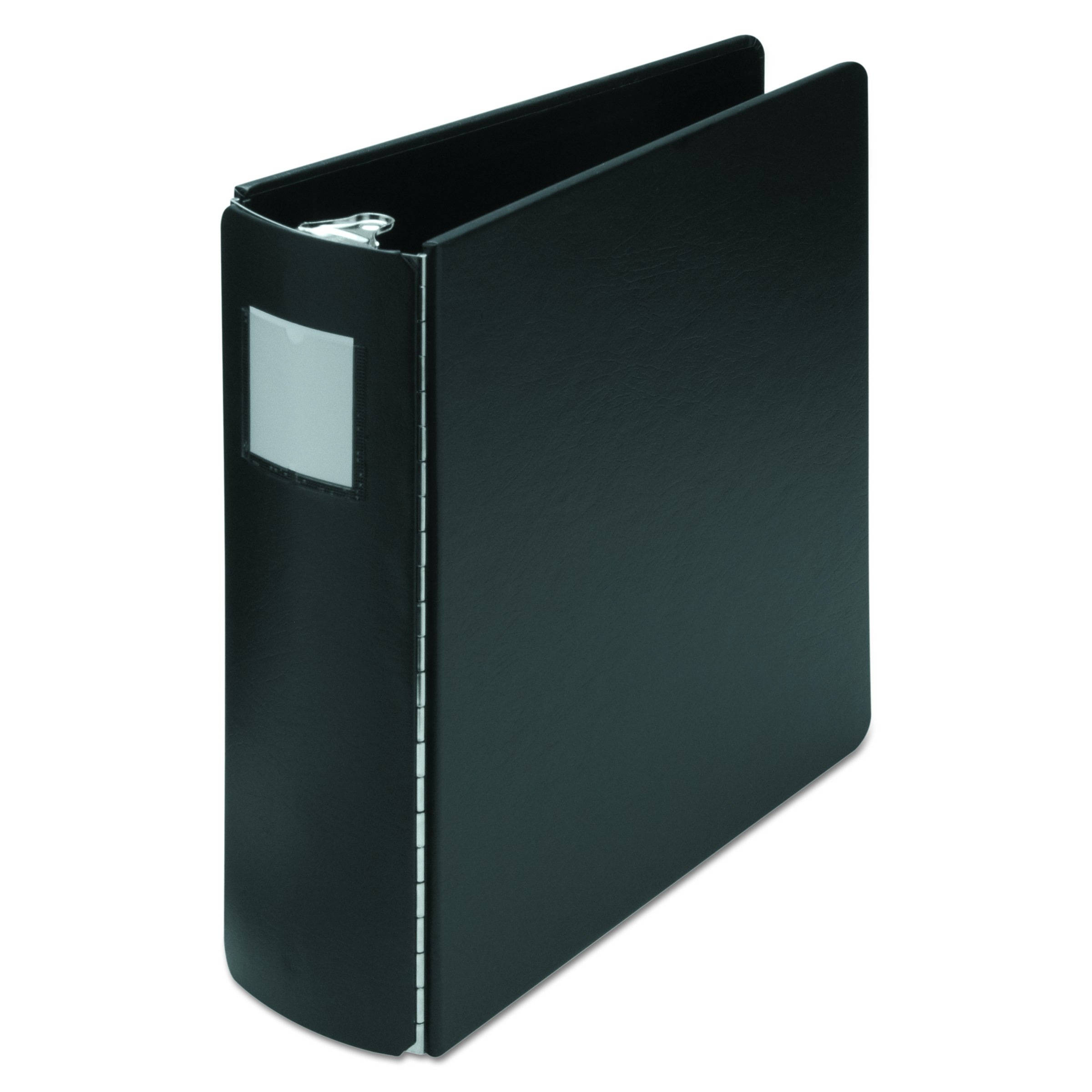 Wilson Jones 344 Line Casebound 3-Ring Binder with DublLock Rings, 3'' Capacity, 8.5'' x 11'' Sheet Size, Black (W344-49NLH) by Wilson Jones