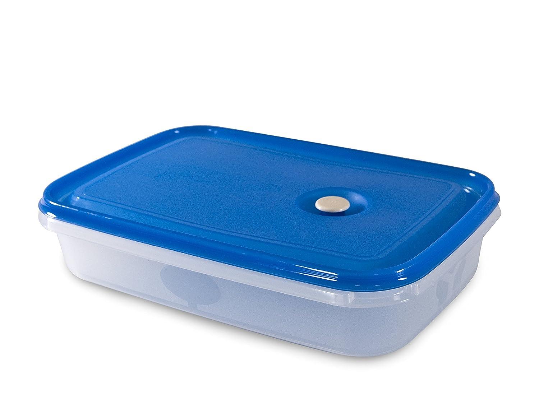 Carrefour 04176 Ovalado Caja 2L Azul, Transparente 1pieza(s ...