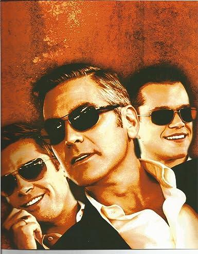 f195df2cc64c Oceans 11 George Clooney, Brad Pitt 8x10 Promo Photo at Amazon's  Entertainment Collectibles Store