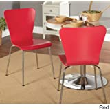 Amazon Com Victoria Ghost Side Dining Chair In Clear