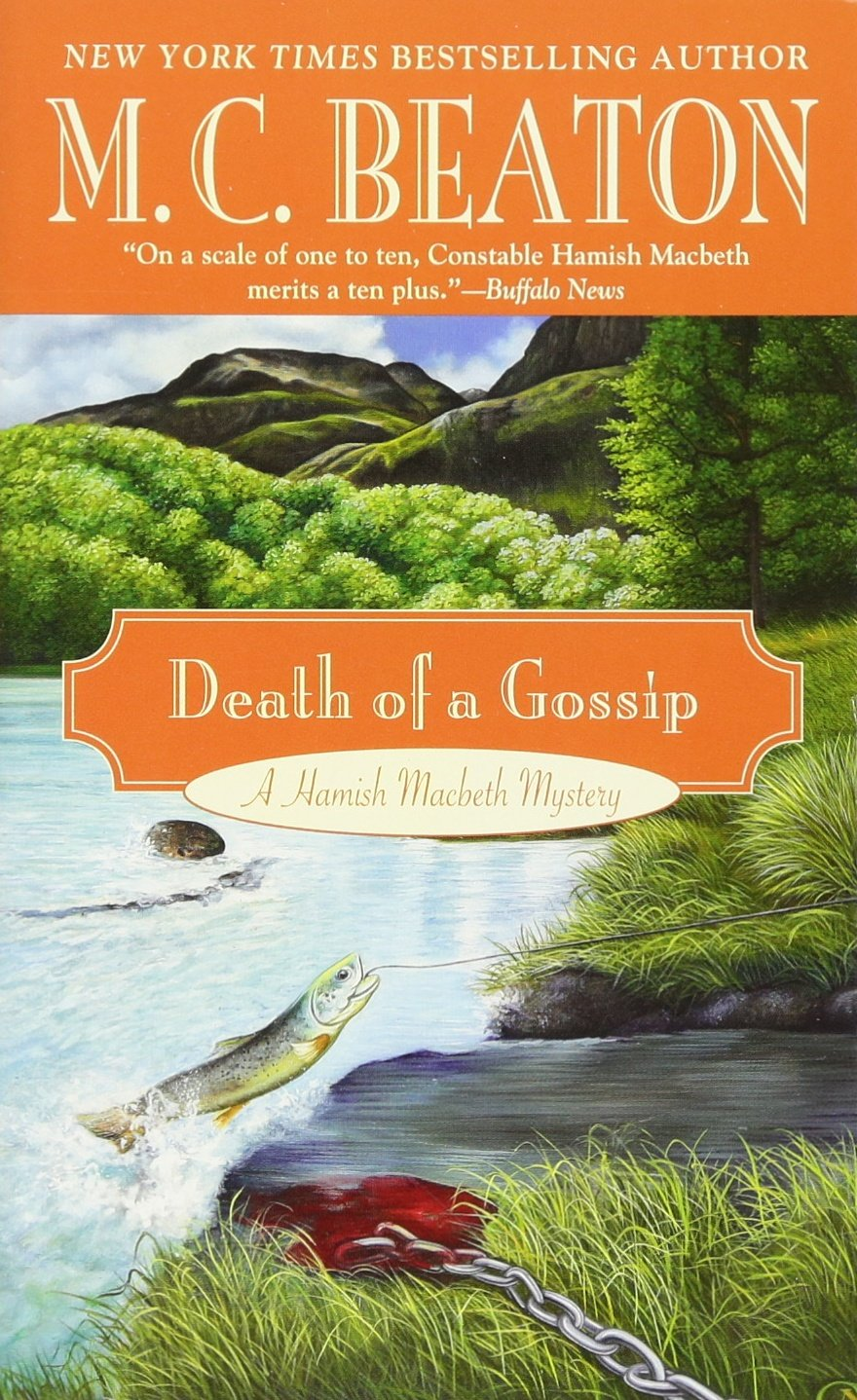 Death Of A Gossip  A Hamish Macbeth Mystery Band 1