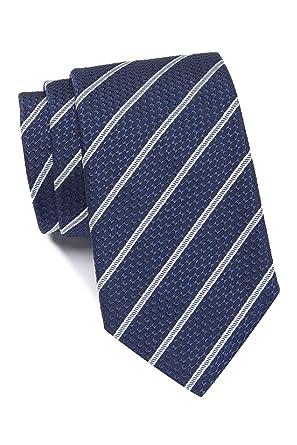 BOSS Hugo 50397372 - Corbata de seda italiana, diseño de rayas ...