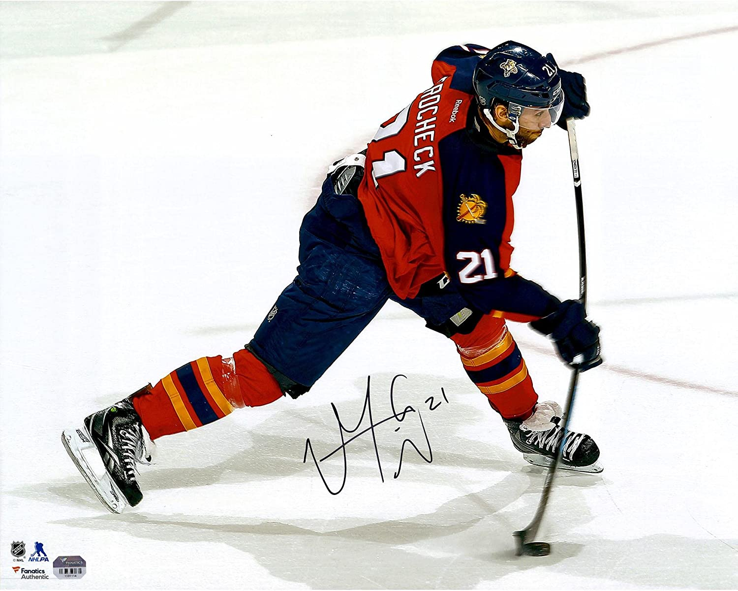... Jersey - Authentic Reebok NHL Mens Away Reebok120099 80%OFF Vincent  Trocheck Florida Panthers Autographed 16 ... 3a5dd4a17
