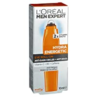 L'OREAL PARIS L'Oréal Men Expert Hydra Energetic Cool Eye Roll-on, 10 Gram