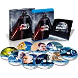 Star Wars - The Complete Saga: Episodes I-VI Blu Ray 9-Disc Sealed