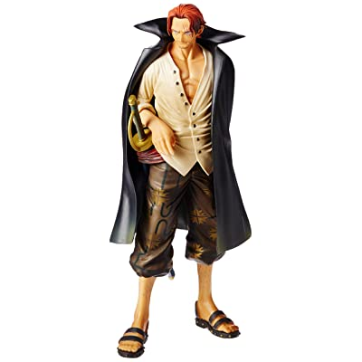 Banpresto One Piece 10.3-Inch The Shanks Master Stars Piece Figure: Toys & Games