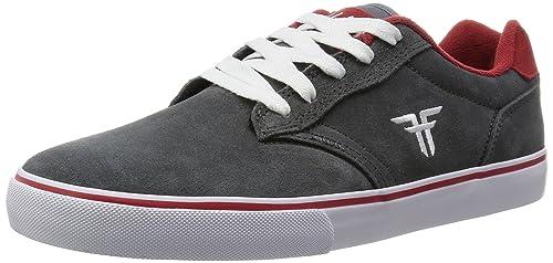 Slash Rosso Red Skate Ash Shoes46 Fallen Scarpe Greyblood Grigio IEDH29
