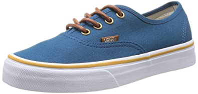 Vans U Authentic, Unisex-Adults' Low-Top Trainers, Blau (Bleu