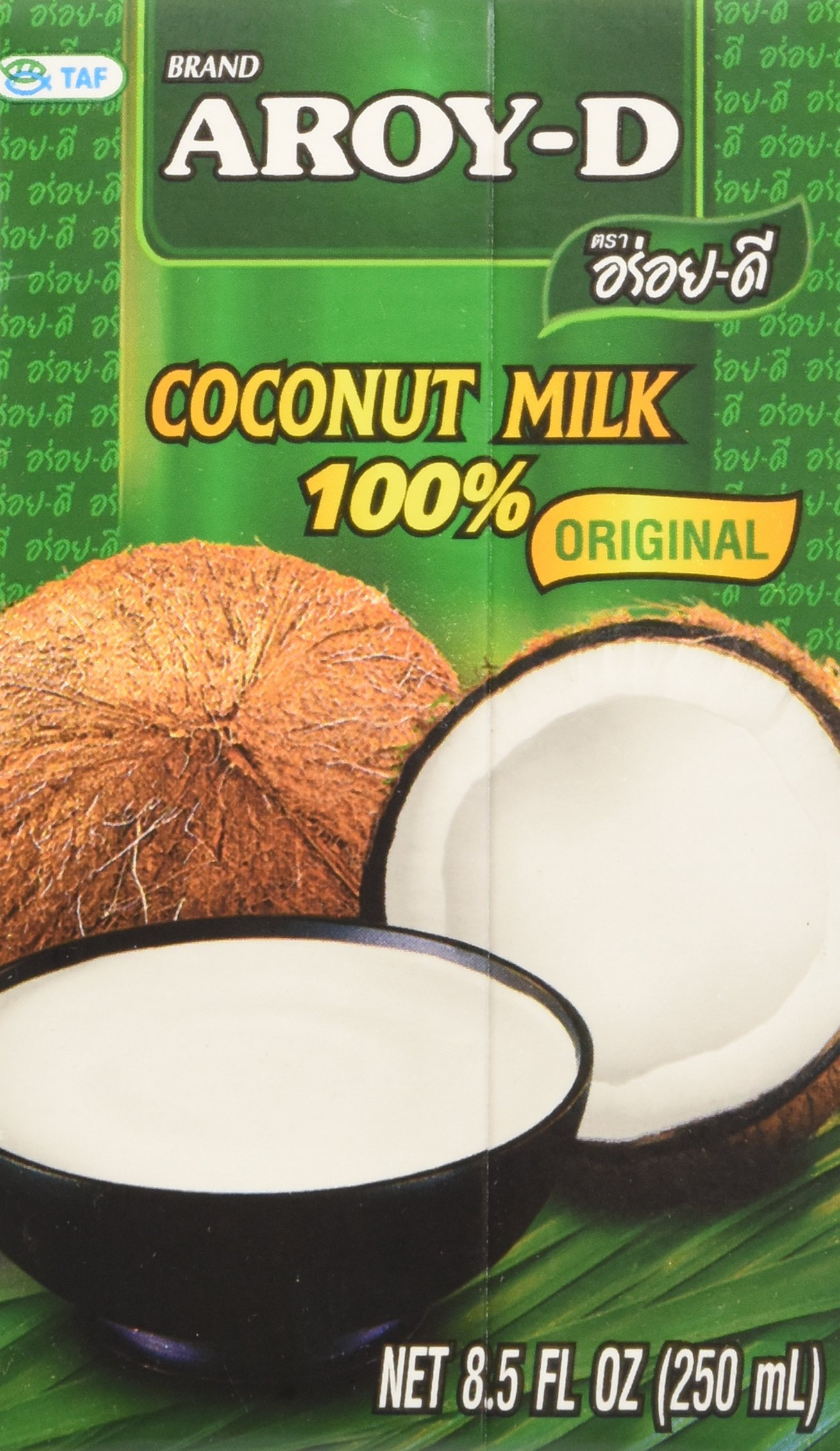 100% Coconut Milk - 8.5 oz packages (36-pack)