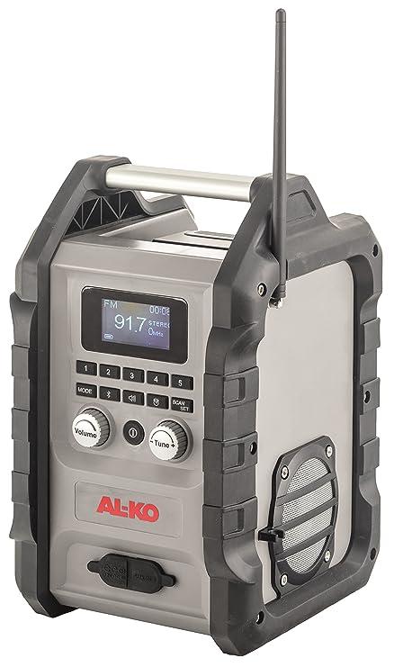 AL-KO 113631 – Radio con batería para la construcción WR 200, 45 W
