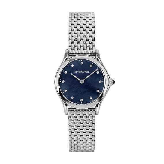 Reloj Emporio Armani Swiss Made ARS7507 Plata Acero 316 L ...