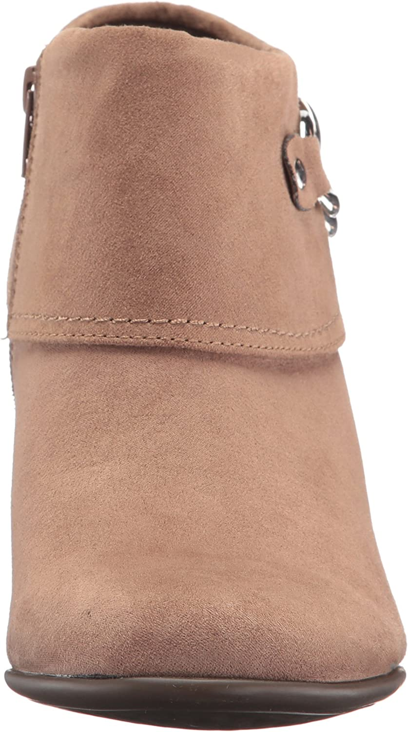Aerosoles Women's First Role Ankle Boot Mink Combo