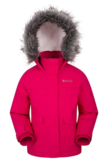 eec5266e6 Mountain Warehouse Samuel Kids Parka Jacket - Water Resistant
