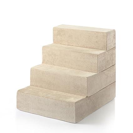 Merveilleux Zinus 4 Step Comfort Pet Stairs/Pet Ramp/Pet Ladder, Extra Large