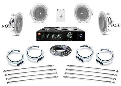 Amazoncom JBL InCeiling Loudspeaker Bundle With JBL CSMA - Abt speakers
