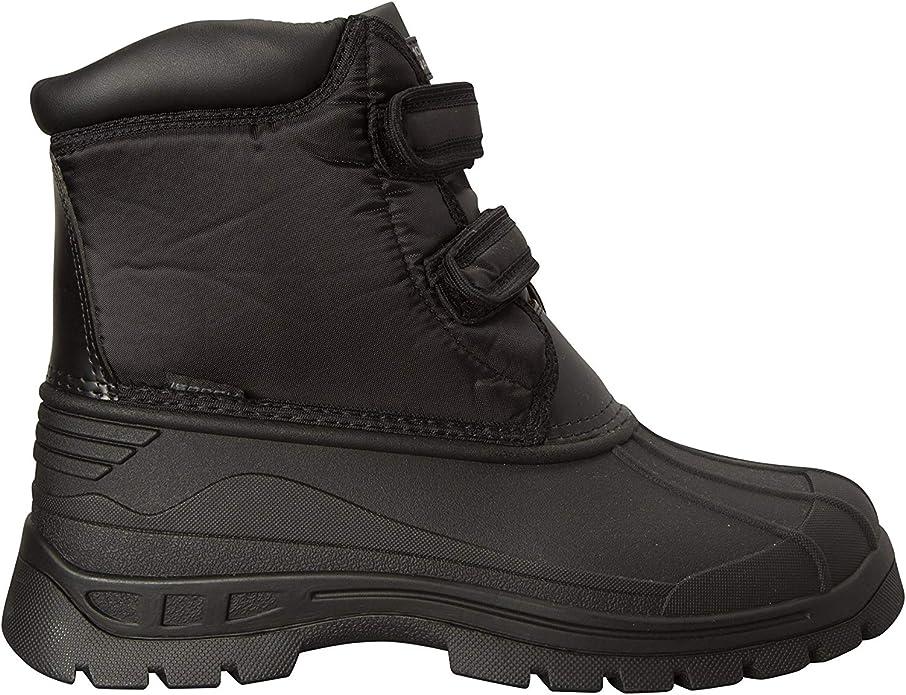 Requisite Damen Stiefel Boots Stallstiefel Wasserdicht Klettverschluss
