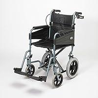 Patterson Medical Days Escape Lite Aluminium Wheelchair,  Silver Blue - Wide