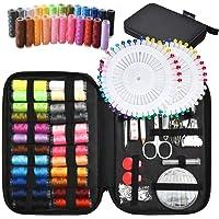 Tuxwang Kit de costura con 130 piezas Accesorios