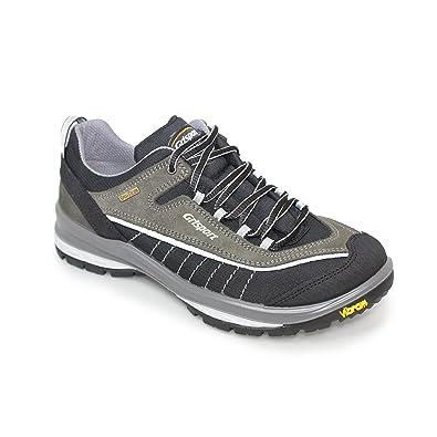 Grisport Latitude, Chaussures de Randonnée Basses Homme, Gris (Black/Grey), 43 EU