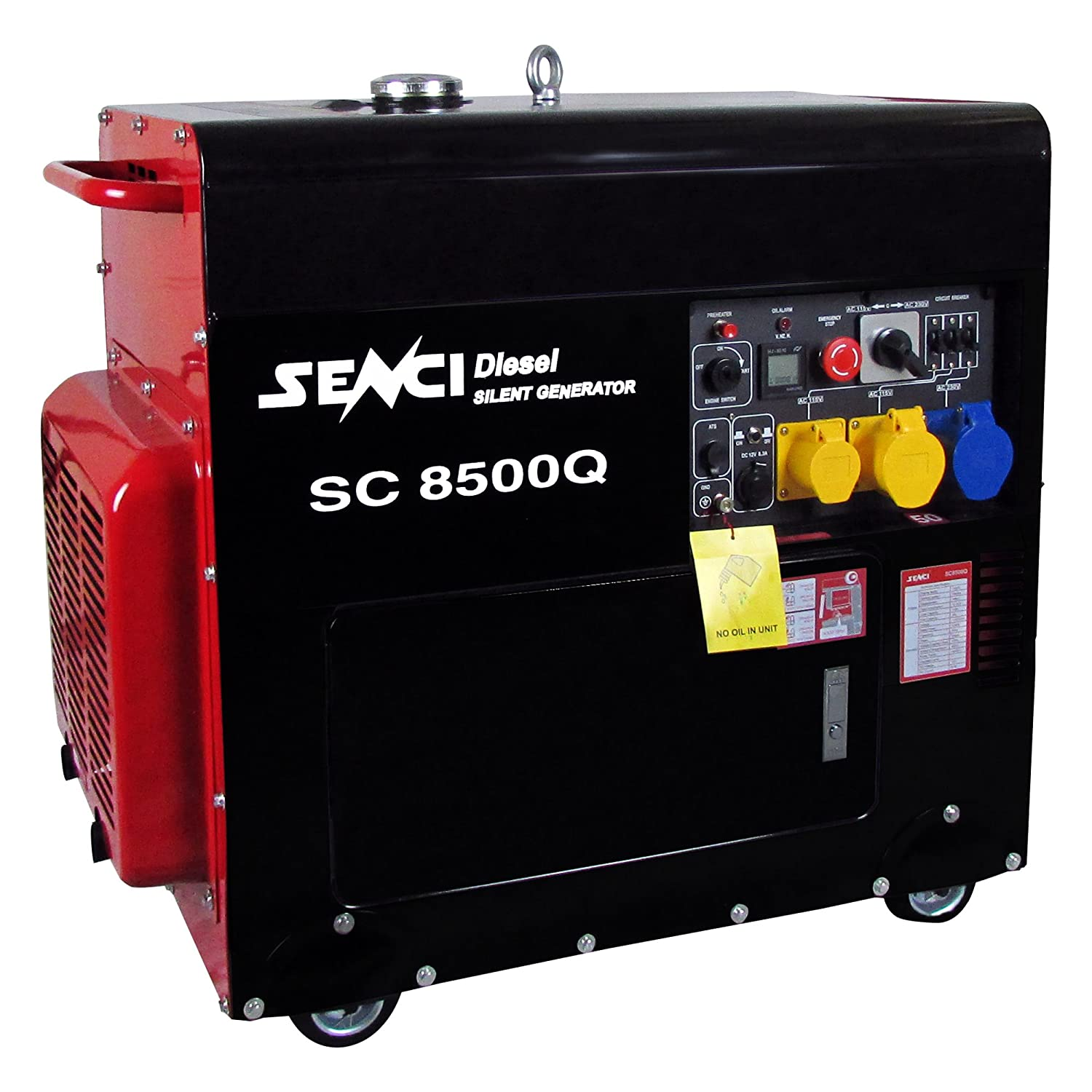 Senci SC8500Q Silent Diesel Generator Amazon Garden & Outdoors