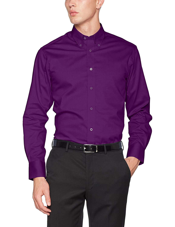 TALLA 15.5. KUSTOM KIT Camisa Business para Hombre